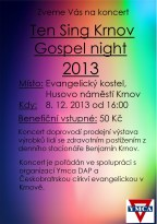 Gospel Night Krnov 2013