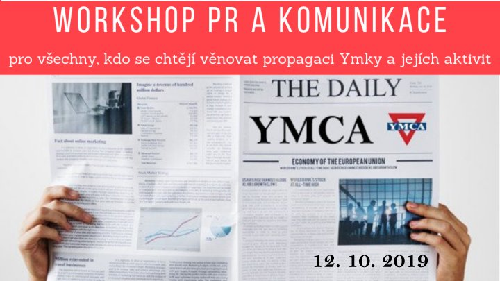 Workshop PR a komunikace